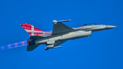 Photo ID 217439 by Radim Spalek. Denmark Air Force General Dynamics F 16AM Fighting Falcon, E 607