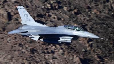 Photo ID 217448 by Peter Boschert. USA Air Force General Dynamics F 16D Fighting Falcon, 90 0797