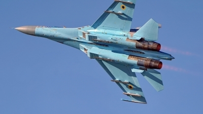 Photo ID 217496 by Dieter Linemann. Ukraine Air Force Sukhoi Su 27P1M,