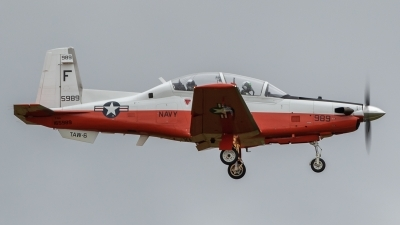 Photo ID 217515 by Paul Varner. USA Navy Raytheon T 6A Texan II, 165989