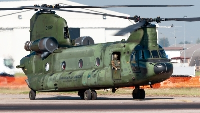 Photo ID 217582 by Varani Ennio. Netherlands Air Force Boeing Vertol CH 47D Chinook, D 102