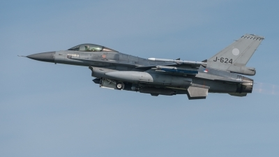 Photo ID 217579 by Hans Rödel. Netherlands Air Force General Dynamics F 16AM Fighting Falcon, J 624