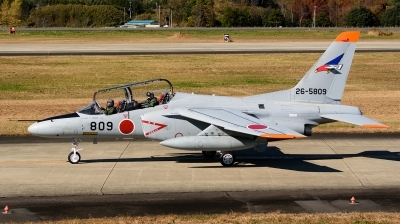 Photo ID 217606 by Mark Munzel. Japan Air Force Kawasaki T 4, 26 5809