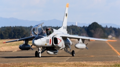 Photo ID 217610 by Mark Munzel. Japan Air Force Kawasaki T 4, 36 5695