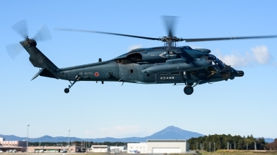 Photo ID 217611 by Mark Munzel. Japan Air Force Sikorsky UH 60J Black Hawk S 70A 12, 48 4579