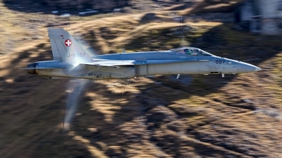 Photo ID 217615 by Sasha Beltyukov. Switzerland Air Force McDonnell Douglas F A 18C Hornet, J 5007