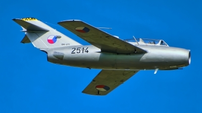 Photo ID 217636 by Radim Spalek. Private Czech Flying Legends Mikoyan Gurevich MiG 15UTI, OK UTI