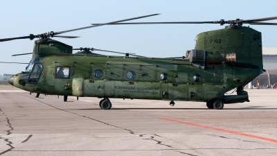 Photo ID 217658 by Varani Ennio. Netherlands Air Force Boeing Vertol CH 47D Chinook, D 102