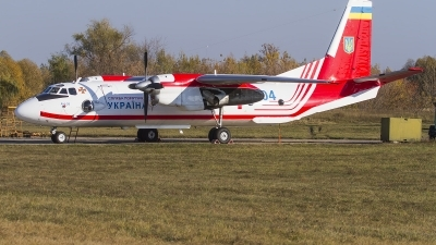 Photo ID 217728 by Igor Bubin. Ukraine State Emergency Service Antonov An 26, 04 BLUE