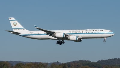 Photo ID 217878 by Luca Fahrni. Kuwait Goverment Airbus A340 541, 9K GBA