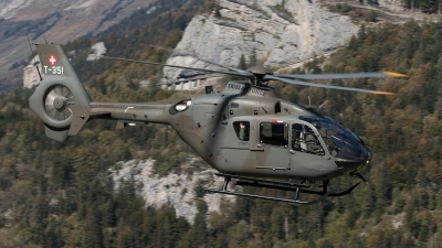 Photo ID 217894 by Luca Fahrni. Switzerland Air Force Eurocopter TH05 EC 635P2, T 351