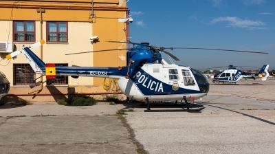 Photo ID 218009 by Andreas Zeitler - Flying-Wings. Spain Police MBB Bo 105CB 4, EC DXH