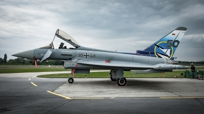 Photo ID 218030 by Vladimír Pouche. Germany Air Force Eurofighter EF 2000 Typhoon S, 30 48