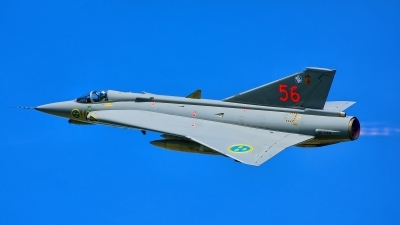 Photo ID 218031 by Radim Spalek. Private Swedish Air Force Historic Flight Saab J35J Draken, SE DXR