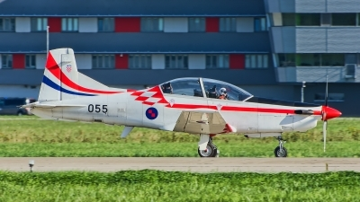 Photo ID 218033 by Radim Spalek. Croatia Air Force Pilatus PC 9M, 055