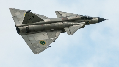 Photo ID 218124 by David Novák. Private Swedish Air Force Historic Flight Saab AJS37 Viggen, SE DXN