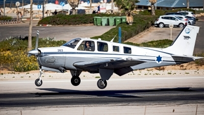 Photo ID 218202 by Anthony Hershko. Israel Air Force Beech A36 Bonanza, 363