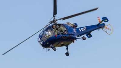 Photo ID 218173 by Sascha Gaida. Netherlands Air Force Aerospatiale SA 316B Alouette III, A 247