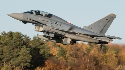 Photo ID 218632 by Sven Neumann. Germany Air Force Eurofighter EF 2000 Typhoon T, 30 14