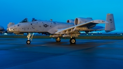 Photo ID 218330 by Brandon Thetford. USA Air Force Fairchild A 10C Thunderbolt II, 79 0110