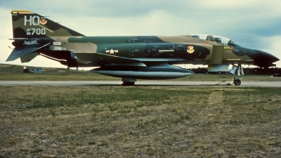 Photo ID 218355 by Gerrit Kok Collection. USA Air Force McDonnell Douglas F 4D Phantom II, 66 7700