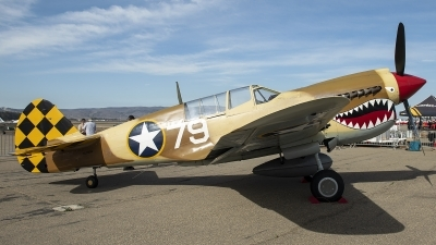 Photo ID 218716 by W.A.Kazior. Private Planes of Fame Air Museum Curtiss P 40N Warhawk, N85104