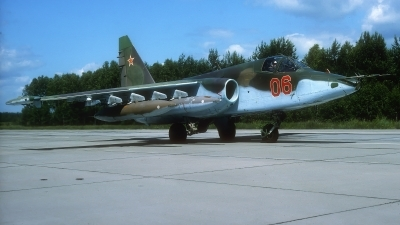 Photo ID 218420 by Rainer Mueller. Russia Air Force Sukhoi Su 25,
