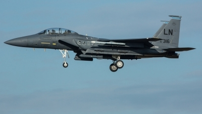 Photo ID 218450 by Doug MacDonald. USA Air Force McDonnell Douglas F 15E Strike Eagle, 91 0316