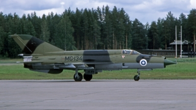 Photo ID 218457 by Marc van Zon. Finland Air Force Mikoyan Gurevich MiG 21bis, MG134