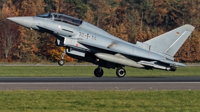 Photo ID 218517 by Rainer Mueller. Germany Air Force Eurofighter EF 2000 Typhoon T, 30 14