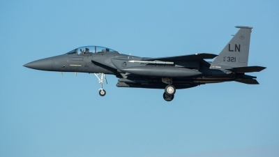 Photo ID 218520 by Doug MacDonald. USA Air Force McDonnell Douglas F 15E Strike Eagle, 91 0321