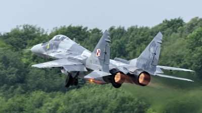 Photo ID 218528 by Caspar Smit. Poland Air Force Mikoyan Gurevich MiG 29A 9 12A, 40