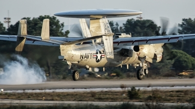 Photo ID 218718 by Marco Casaleiro. USA Navy Grumman E 2D Advanced Hawkeye, 168749