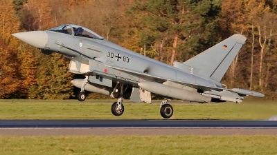 Photo ID 218609 by Dieter Linemann. Germany Air Force Eurofighter EF 2000 Typhoon S, 30 83