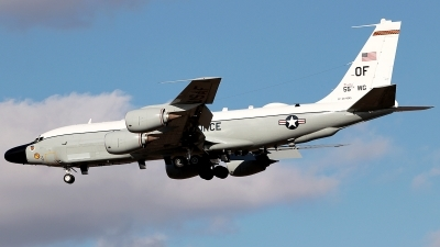 Photo ID 218678 by Misael Ocasio Hernandez. USA Air Force Boeing RC 135V Rivet Joint 739 445B, 64 14845