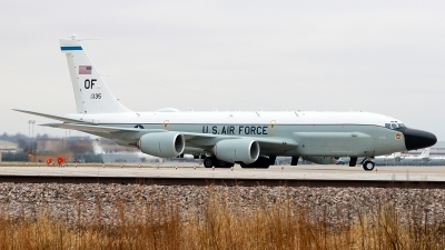 Photo ID 218679 by Misael Ocasio Hernandez. USA Air Force Boeing RC 135W Rivet Joint 717 158, 62 4135