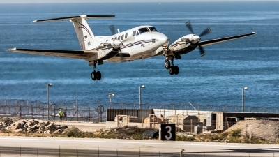 Photo ID 218658 by Anthony Hershko. Israel Air Force Beech Super King Air 200T Zufit 5, 856