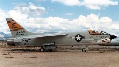 Photo ID 2816 by Ted Miley. USA Navy Vought DF 8F Crusader, 144427