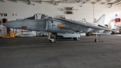 Photo ID 218727 by Adolfo Bento de Urquia. Spain Navy McDonnell Douglas EAV 8B Harrier II, VA 1B 29