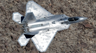 Photo ID 218734 by Hans-Werner Klein. USA Air Force Lockheed Martin F 22A Raptor, 06 4111