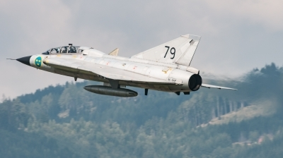 Photo ID 218960 by David Novák. Private Swedish Air Force Historic Flight Saab Sk35C Draken, SE DXP
