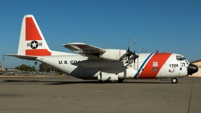 Photo ID 218916 by Thomas Ziegler - Aviation-Media. USA Coast Guard Lockheed HC 130H Hercules L 382, 1709