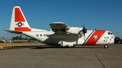 Photo ID 218915 by Thomas Ziegler - Aviation-Media. USA Coast Guard Lockheed HC 130H Hercules L 382, 1714