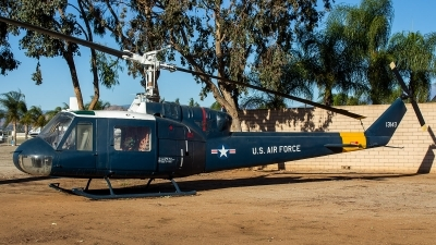 Photo ID 218949 by Thomas Ziegler - Aviation-Media. USA Air Force Bell UH 1F Iroquois 204, 63 13143