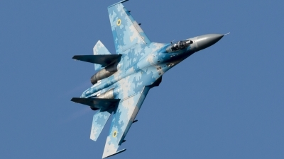Photo ID 219071 by Thomas Leicht. Ukraine Air Force Sukhoi Su 27P1M,