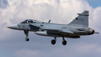 Photo ID 218991 by Thomas Ziegler - Aviation-Media. Sweden Air Force Saab JAS 39C Gripen, 39293