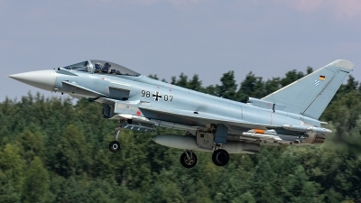 Photo ID 218999 by Thomas Ziegler - Aviation-Media. Germany Air Force Eurofighter EF 2000 Typhoon S, 98 07