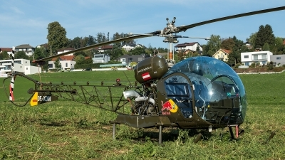 Photo ID 218996 by Thomas Ziegler - Aviation-Media. Private Red Bull Bell 47G 3B 1, OE XDM