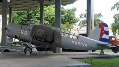 Photo ID 219028 by D. A. Geerts. Cuba Navy Vought OS2U 3 Kingfisher, 50