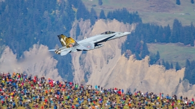 Photo ID 219070 by Agata Maria Weksej. Switzerland Air Force McDonnell Douglas F A 18C Hornet, J 5011